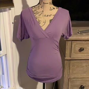 🌺Stunning purple maternity shirt🌺